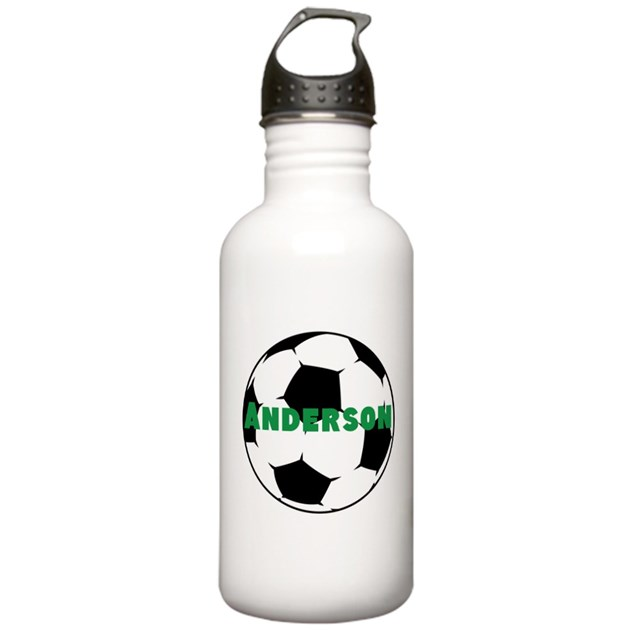 personalized soccer water bottle by personalizedgifts2