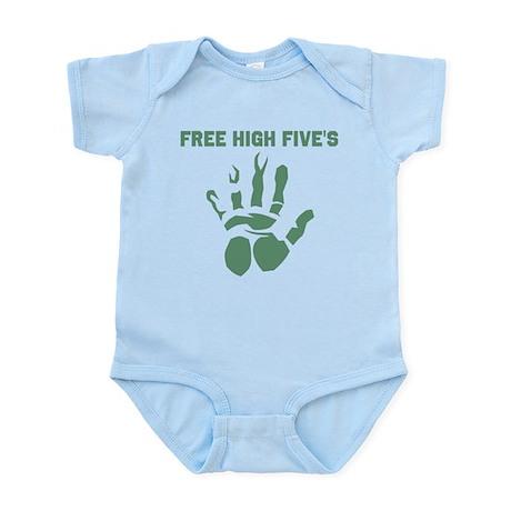 Free High Five's Infant Bodysuit