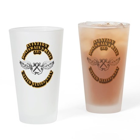 Navy - Rate - AB Drinking Glass