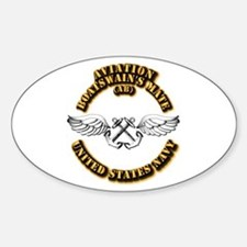 Navy - Rate - AB Sticker (Oval 10 pk)