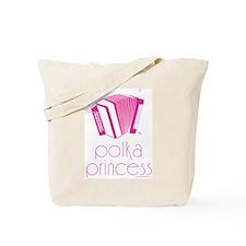 Polka Princess Tote Bag