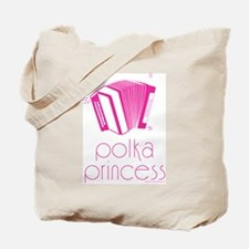 Polka Princess Tote Bag