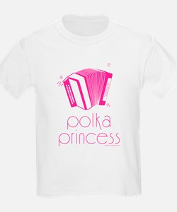 Polka Princess Kids T-Shirt