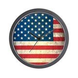 American flag Basic Clocks