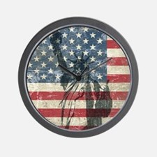 Vintage Statue Of Liberty Wall Clock