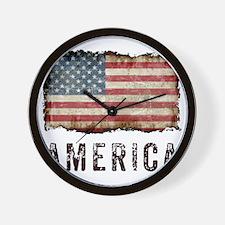 Vintage America Wall Clock