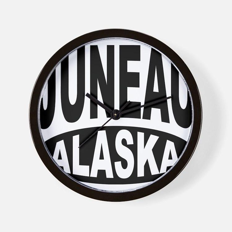 Juneau Alaska Wall Clock