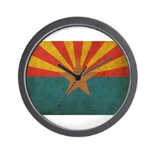 Vintage Arizona Flag Wall Clock