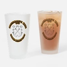 Navy - Rate - BM Drinking Glass