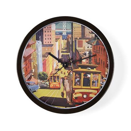 Vintage San Francisco Wall Clock