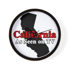 California Motto Wall Clock