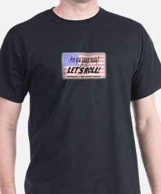 Lets Roll-Todd Beamer:9/11 American Hero T-Shirt