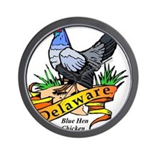 Delaware Chicken Wall Clock