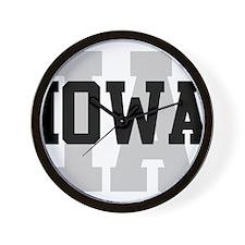IA Iowa Wall Clock