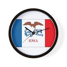 Iowa Wall Clock