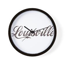 Vintage Louisville Wall Clock