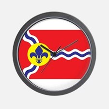 St. Louis Flag Wall Clock