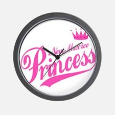 New Mexico Princess Wall Clock