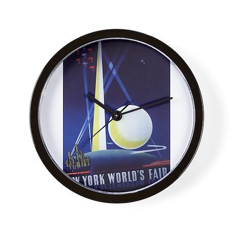 New York World's Fair Wall Clock