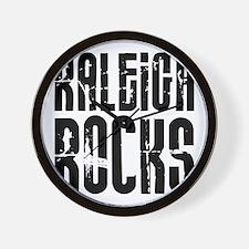 Raleigh Rocks Wall Clock