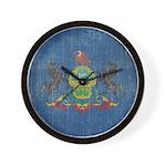Vintage Pennsylvania Flag Wall Clock