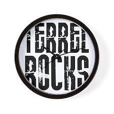 Terrel Rocks Wall Clock