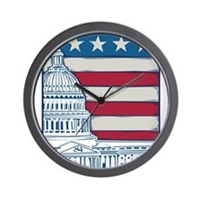 Vintage Washington Wall Clock