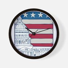 Vintage Washington Wall Clock