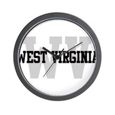 WV West Virginia Wall Clock