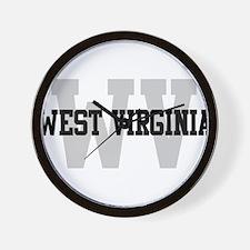 WV West Virginia Wall Clock