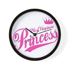 West Virginia Princess Wall Clock