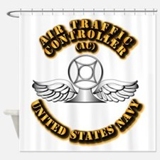 Navy - Rate - AC Shower Curtain