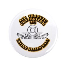 """Navy - Rate - AC 3.5"""" Button (100 pack)"""