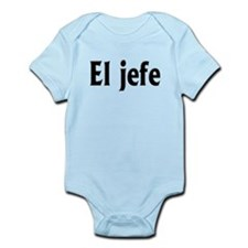 El jefe (The Boss) Infant Bodysuit