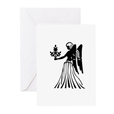 Virgo - The Virgin Greeting Cards (Pk of 10)
