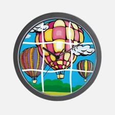Hot Air Balloons Puzzle Wall Clock