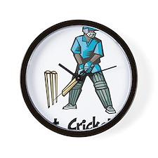 Got Cricket? Wall Clock