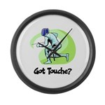 Got Touche? Large Wall Clock