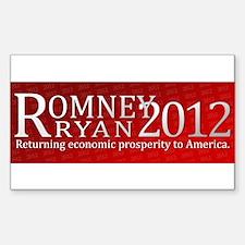 Romney Ryan 2012 Decal