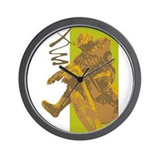 Motorcross Wall Clock