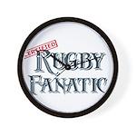 Rugby Fanatic Wall Clock