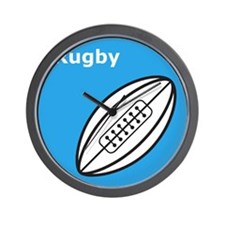 iRugby Wall Clock