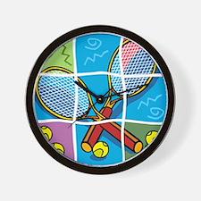 Tennis Puzzle Wall Clock