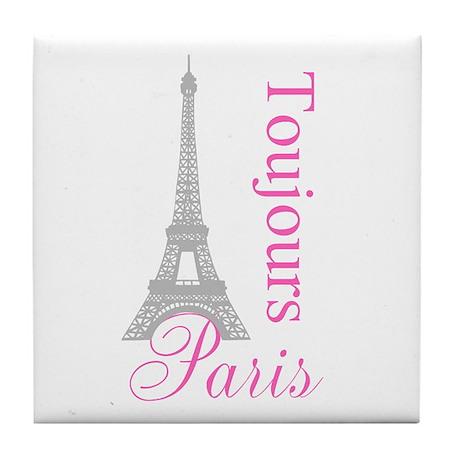 Paris Toujours Tile Coaster