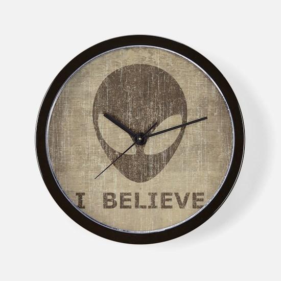 Vintage Alien (I Believe) Wall Clock