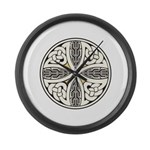 Celtic Knot Large Wall Clock