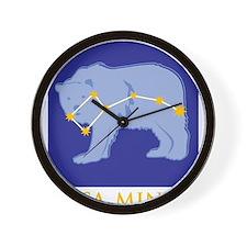 Ursa Minor Constellation Wall Clock