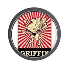 Pop Art Griffin Wall Clock