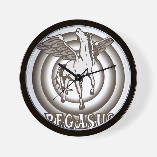 Retro Pegasus Wall Clock