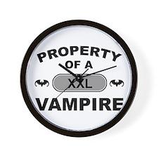 XXL Vampire Wall Clock